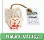 Earth-friendly cat products.