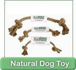 Earth-friendly dog products.